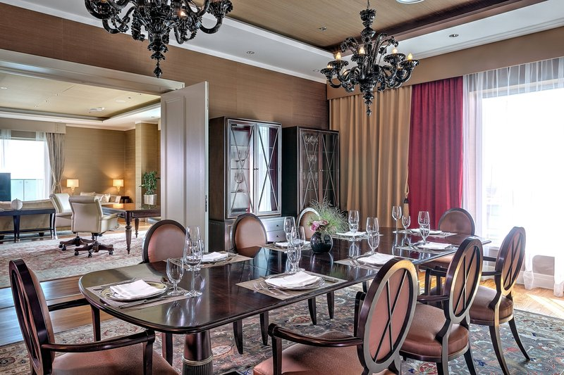 Grand Hotel River Park; a Luxury Collection Hotel-Presidential Suite - Dining Room<br/>Image from Leonardo