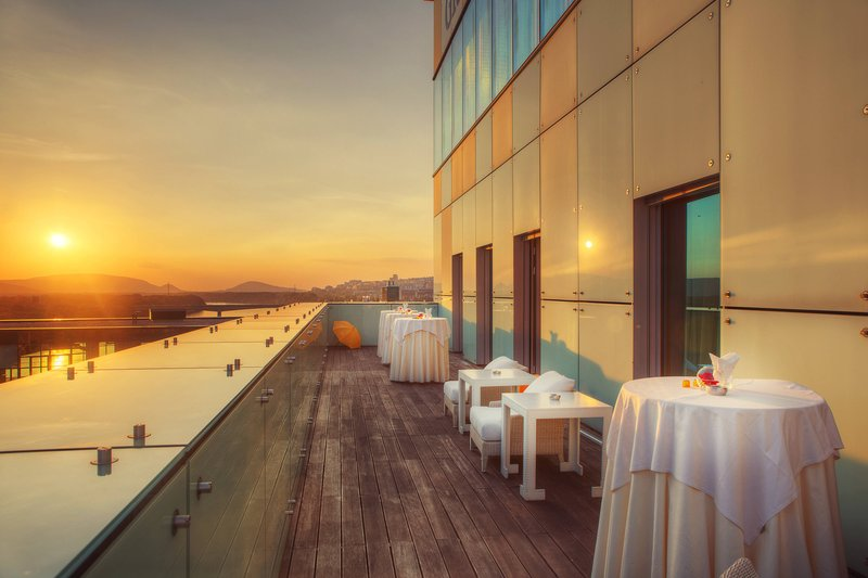 Grand Hotel River Park; a Luxury Collection Hotel-Presidential Suite - Terrace<br/>Image from Leonardo