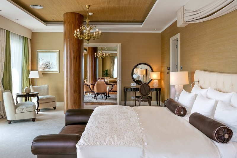 Grand Hotel River Park; a Luxury Collection Hotel-Presidential Suite - Bedroom<br/>Image from Leonardo