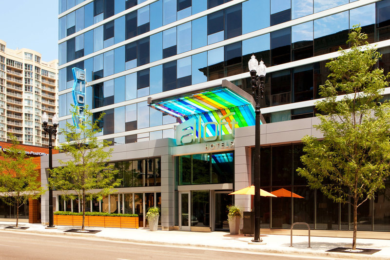 Aloft Chicago City Center-Exterior<br/>Image from Leonardo