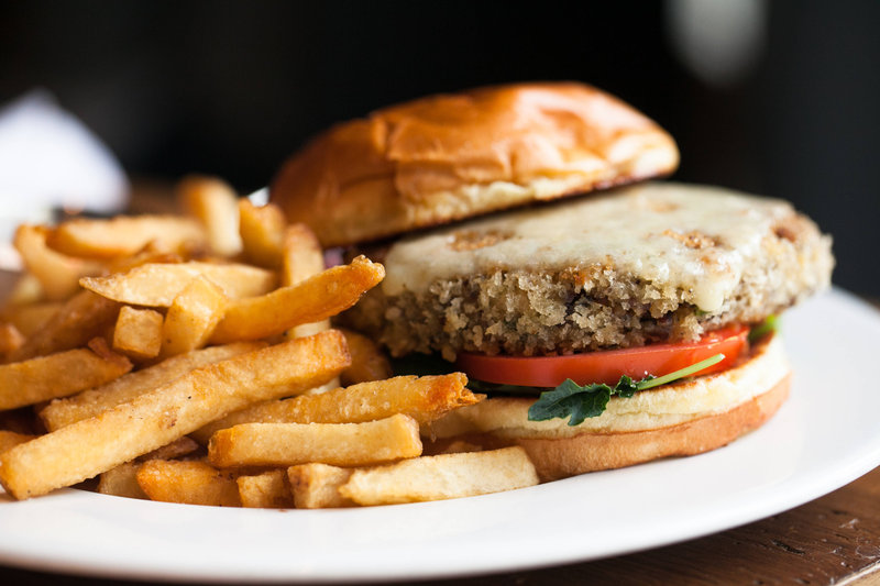 Aloft Chicago City Center-Beatrix - Veggie Burger<br/>Image from Leonardo