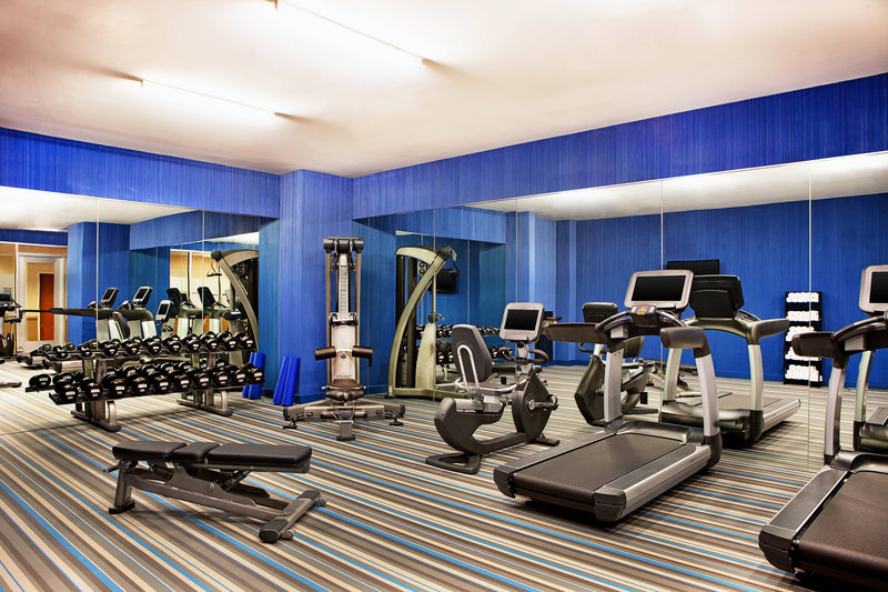 Aloft Chicago City Center-Re:charge Fitness Center<br/>Image from Leonardo