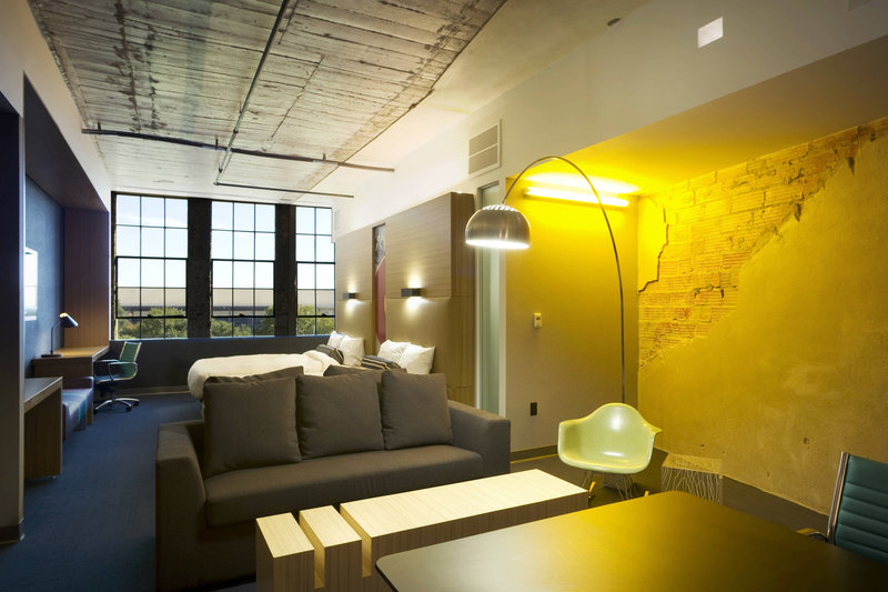 Aloft Dallas Downtown-Ultra Savvy Queen/Queen Suite<br/>Image from Leonardo