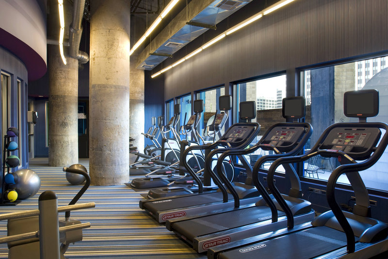 Aloft Dallas Downtown-Re:charge Fitness Center<br/>Image from Leonardo