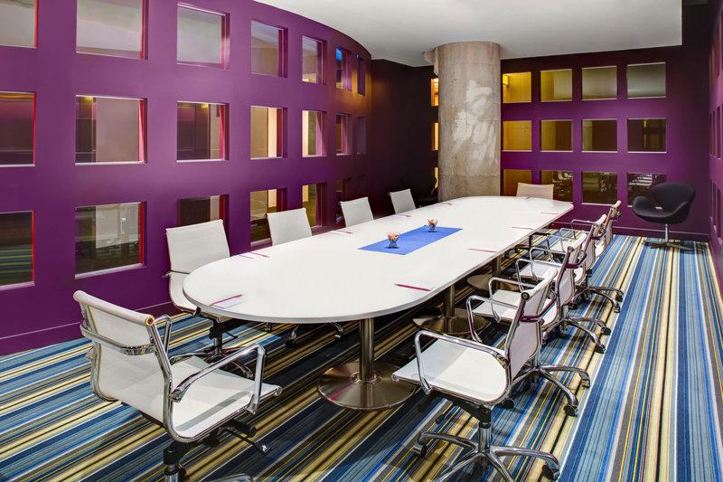 Aloft Dallas Downtown-ex:change Boardroom - Conference Setup<br/>Image from Leonardo