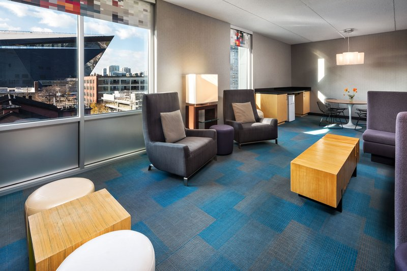 Aloft Minneapolis-One-Room Suite<br/>Image from Leonardo
