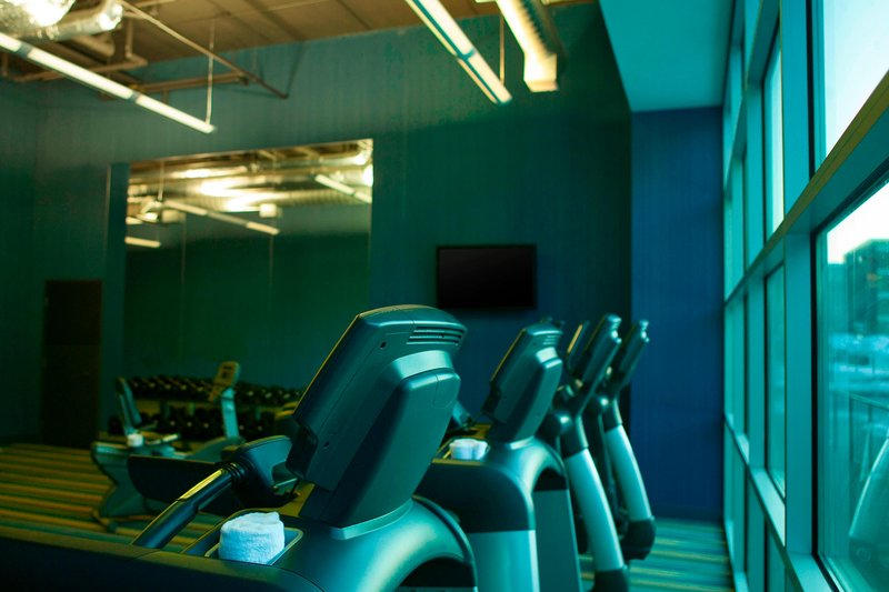Aloft Minneapolis-Re:charge Fitness Center<br/>Image from Leonardo