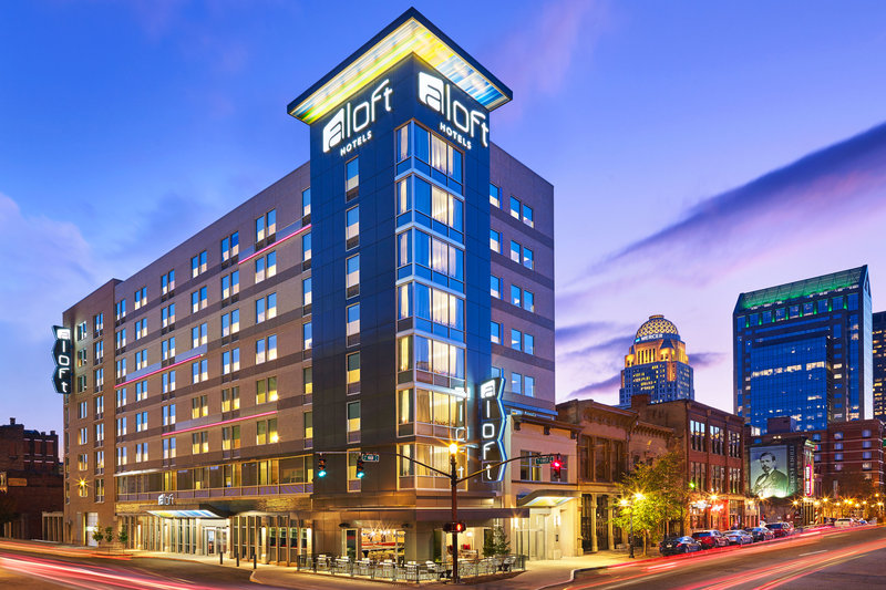 Aloft Louisville Downtown-Exterior<br/>Image from Leonardo