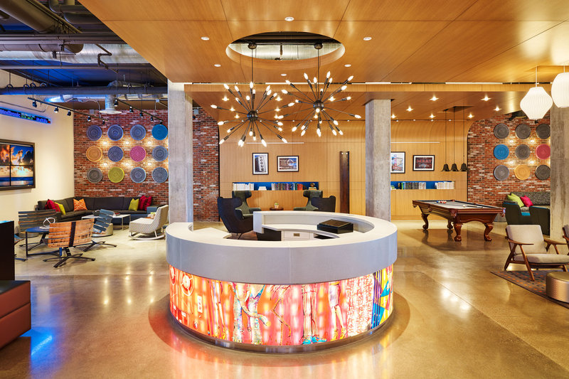 Aloft Louisville Downtown-Front Desk<br/>Image from Leonardo