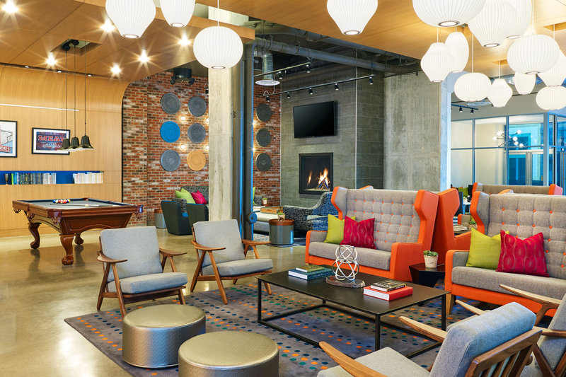 Aloft Louisville Downtown-re:mix Lounge<br/>Image from Leonardo