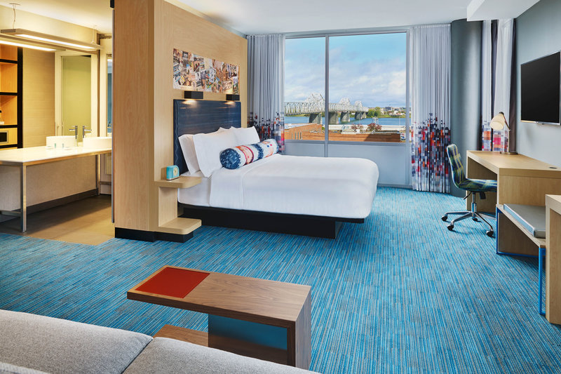 Aloft Louisville Downtown-Savvy Guestroom<br/>Image from Leonardo