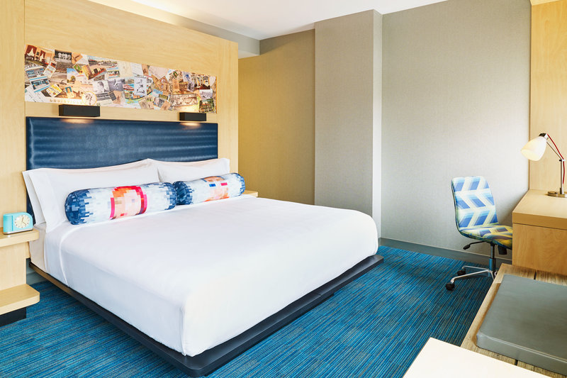 Aloft Louisville Downtown-King Guest Room<br/>Image from Leonardo