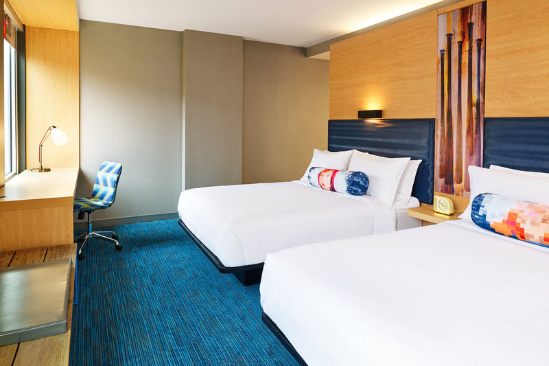 Aloft Louisville Downtown-Double Guestroom<br/>Image from Leonardo