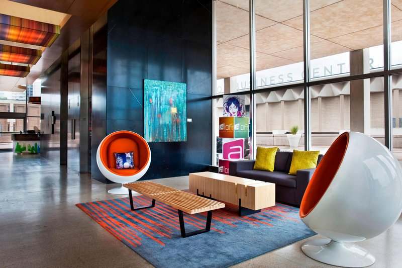 Aloft Tulsa Downtown-Lobby<br/>Image from Leonardo