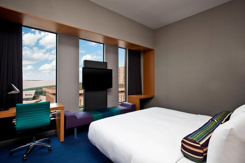 Aloft Tulsa Downtown-King Guest Room<br/>Image from Leonardo