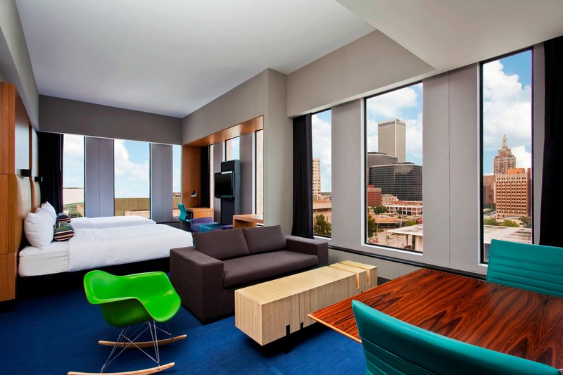 Aloft Tulsa Downtown-Corner Suite<br/>Image from Leonardo