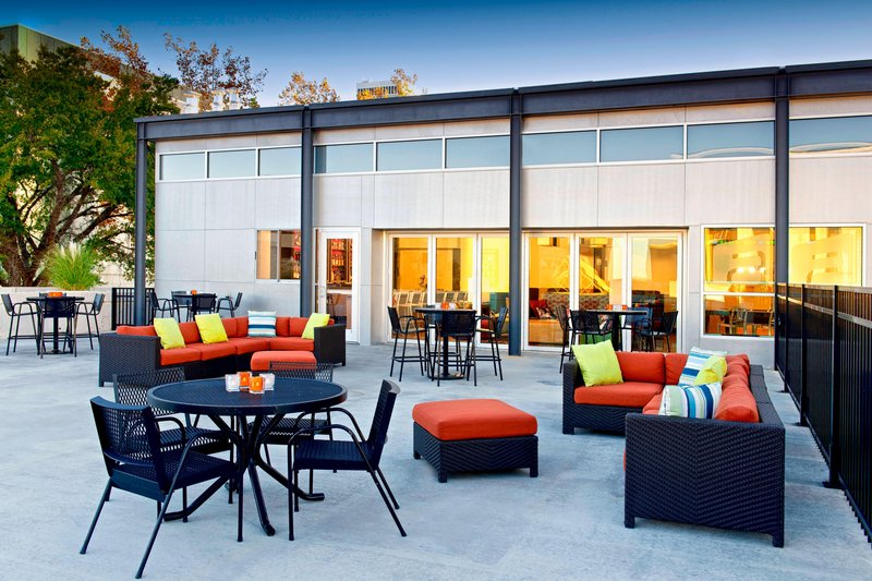 Aloft Tulsa Downtown-Poolside Terrace<br/>Image from Leonardo
