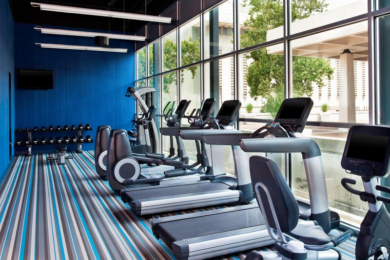 Aloft Tulsa Downtown-Re:charge Gym<br/>Image from Leonardo