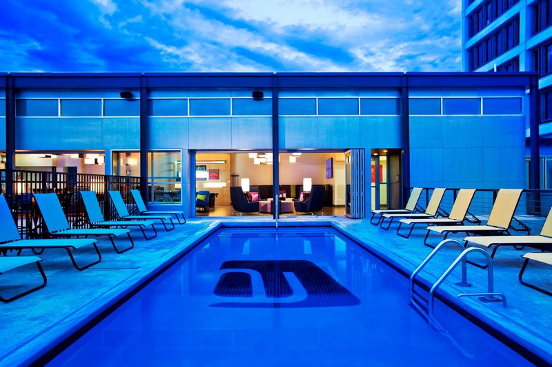 Aloft Tulsa Downtown-Splash - Outdoor Pool<br/>Image from Leonardo
