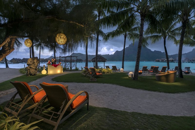 Intercontinental Bora Bora Resort-Enjoy a cocktail while admiring the scenery at the Sunset Theatre<br/>Image from Leonardo