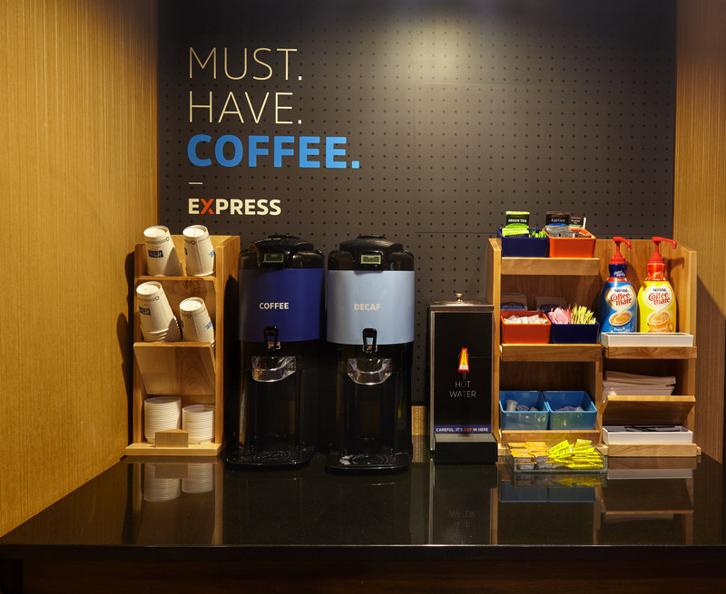 Holiday Inn Express & Suites Vineland Millville-Coffee Station<br/>Image from Leonardo