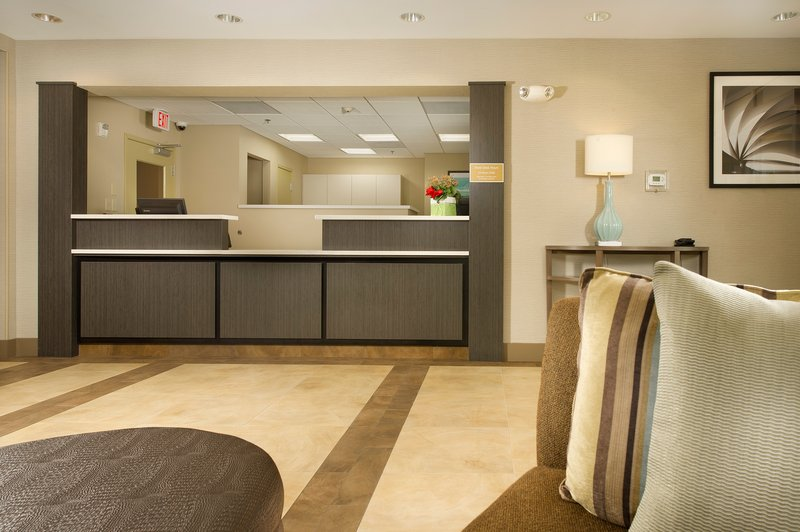 Candlewood Suites Alexandria - Fort Belvoir-Our Front Desk staff is waiting to welcome you to our hotel.<br/>Image from Leonardo