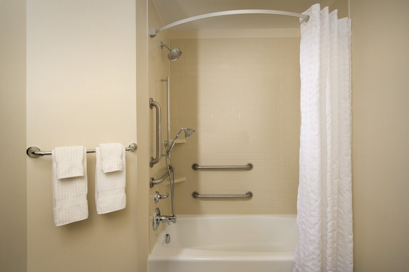 Candlewood Suites Alexandria - Fort Belvoir-ADA Guest Bathroom with Mobility Features<br/>Image from Leonardo