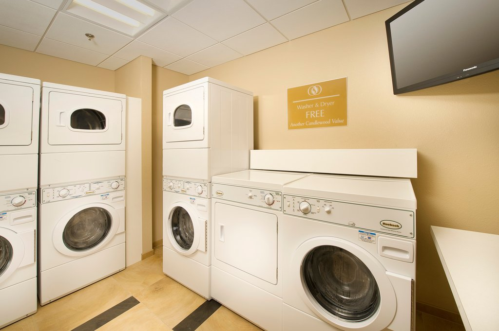 Candlewood Suites Alexandria - Fort Belvoir-Complimentary Guest Laundry Room<br/>Image from Leonardo