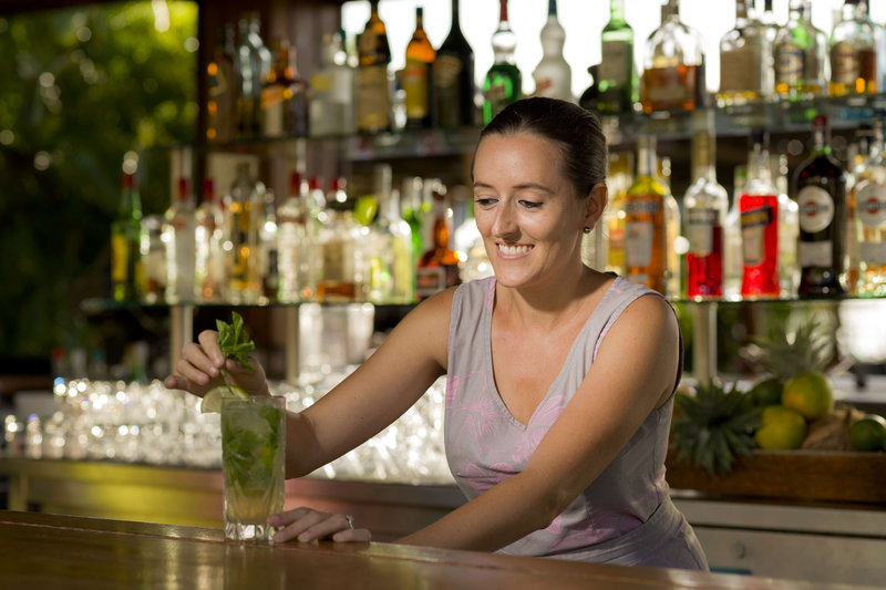 Intercontinental Moorea Resort-Enjoy refreshing cocktails and light meals at the Beach Bar<br/>Image from Leonardo