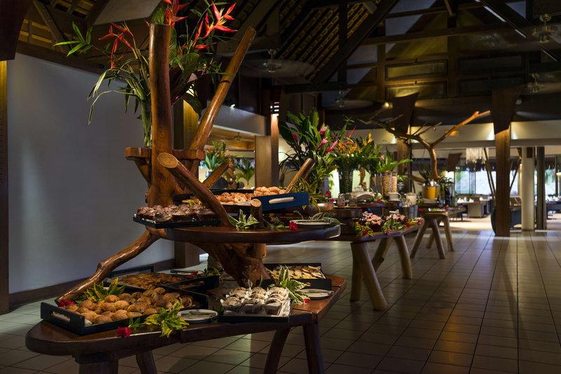 Sofitel Moorea Ia Ora Beach Resort-Breakfast buffet at the Fare Nui Restaurant<br/>Image from Leonardo
