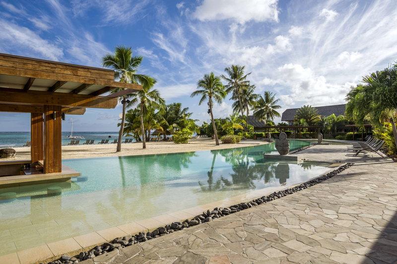 Intercontinental Moorea Resort-Hotel main pool next to the main beach<br/>Image from Leonardo