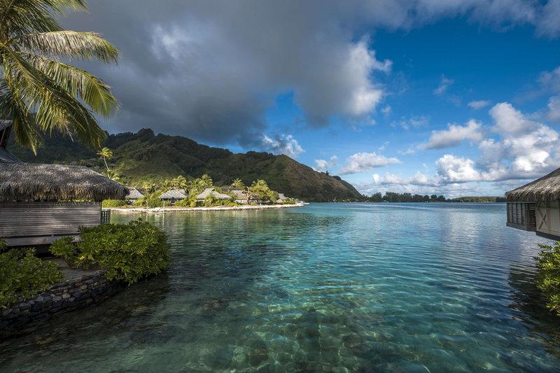 Sofitel Moorea Ia Ora Beach Resort-View from one of the motu (islet)<br/>Image from Leonardo