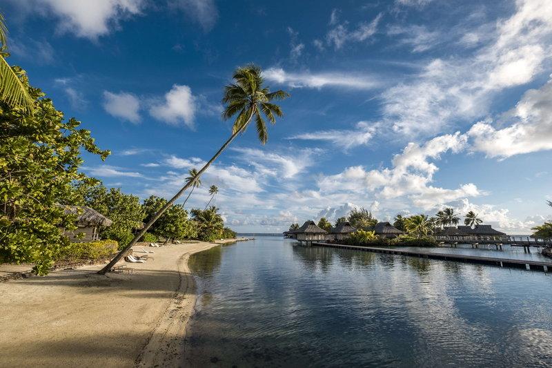 Intercontinental Moorea Resort-Enjoy the serene setting on our private beach<br/>Image from Leonardo