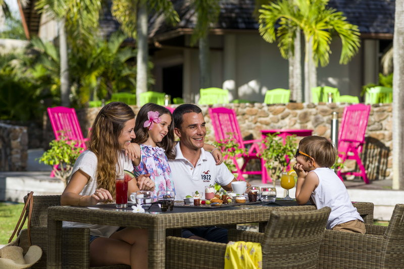 Intercontinental Moorea Resort-The Fare Hana restaurant offers a light and laid-back cuisine.<br/>Image from Leonardo