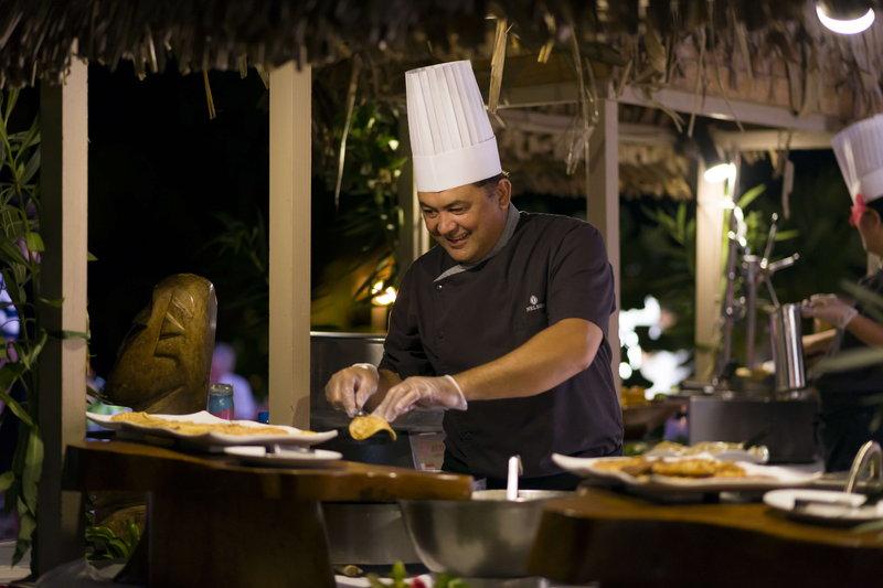 Intercontinental Moorea Resort-On Mondays and Sundays, enjoy our theme night buffet on the beach<br/>Image from Leonardo