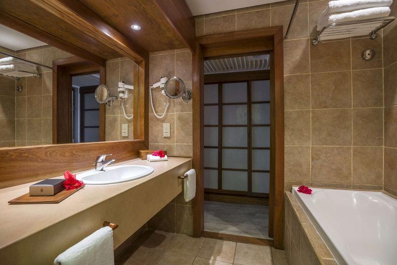 Intercontinental Moorea Resort-Bathroom in a Lanai Room<br/>Image from Leonardo