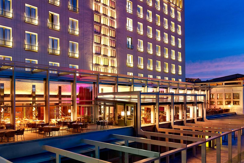 Metropol Palace Belgrade; a Luxury Collection Hotel-Exterior park side<br/>Image from Leonardo