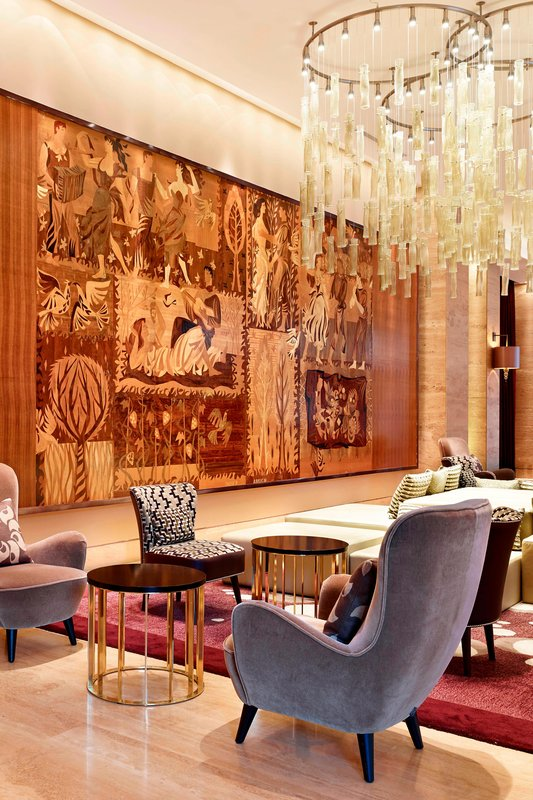 Metropol Palace Belgrade; a Luxury Collection Hotel-The Lobby Sitting Area<br/>Image from Leonardo