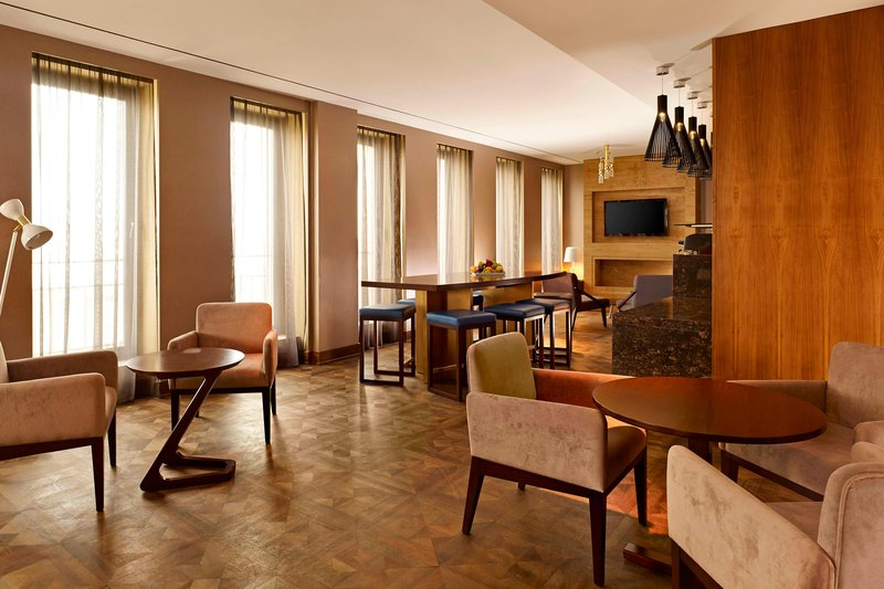 Metropol Palace Belgrade; a Luxury Collection Hotel-Elytis lounge<br/>Image from Leonardo