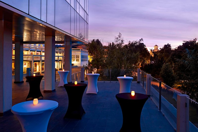 Metropol Palace Belgrade; a Luxury Collection Hotel-Ivo Andric Ballroom terrace<br/>Image from Leonardo