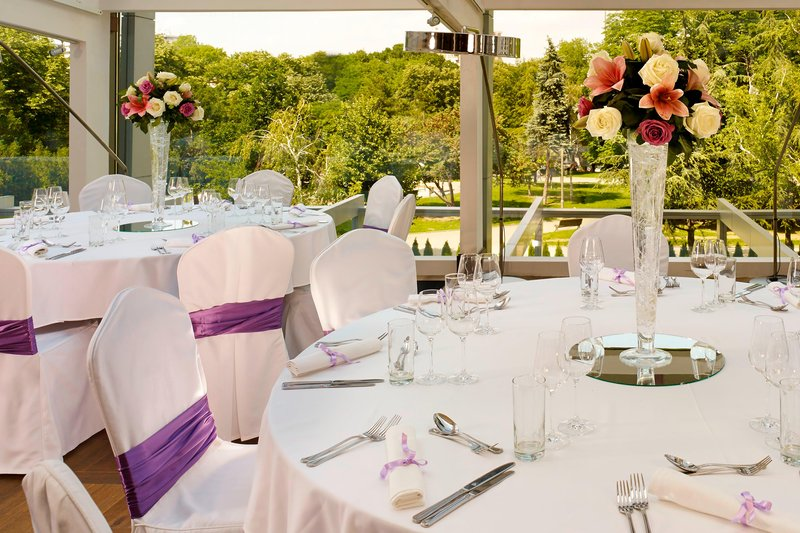 Metropol Palace Belgrade; a Luxury Collection Hotel-Restaurant Wedding Reception<br/>Image from Leonardo