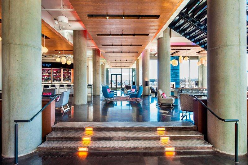 Aloft Boston Seaport-Remix Lounge<br/>Image from Leonardo