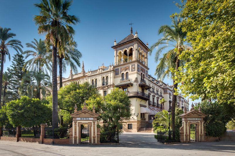 Hotel Alfonso XIII; a Luxury Collection Hotel Seville-Exterior<br/>Image from Leonardo