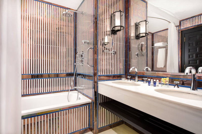 Hotel Alfonso XIII; a Luxury Collection Hotel Seville-Double Deluxe Guest Bathroom<br/>Image from Leonardo