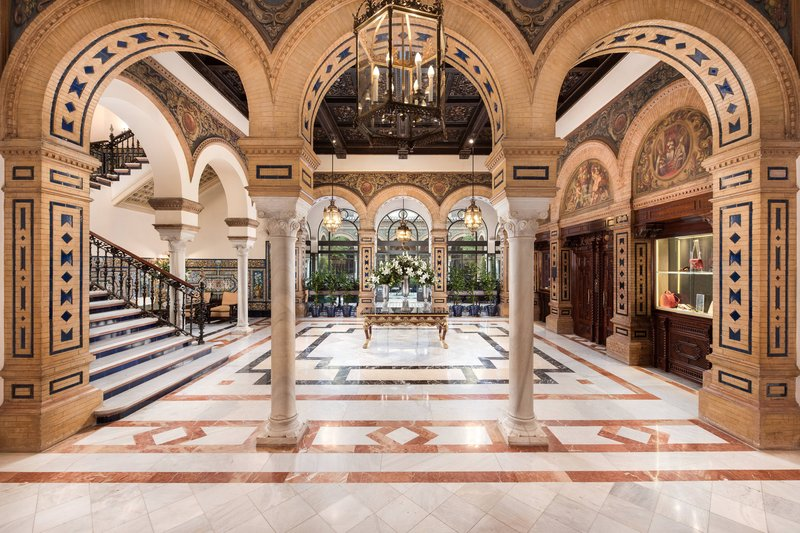 Hotel Alfonso XIII; a Luxury Collection Hotel Seville-Lobby<br/>Image from Leonardo