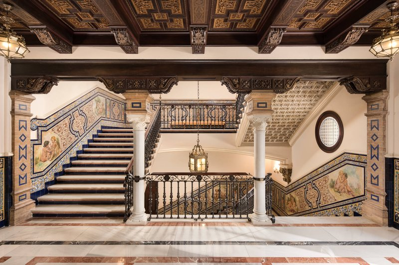 Hotel Alfonso XIII; a Luxury Collection Hotel Seville-First Floor Lobby<br/>Image from Leonardo