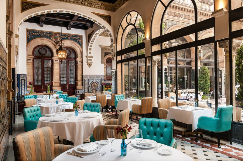 Hotel Alfonso XIII; a Luxury Collection Hotel Seville-San Fernando Restaurant<br/>Image from Leonardo