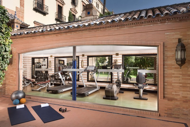 Hotel Alfonso XIII; a Luxury Collection Hotel Seville-Fitness Center<br/>Image from Leonardo