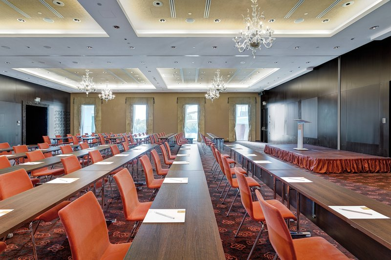 Grand Hotel River Park; a Luxury Collection Hotel-Maria Theresia Ballroom - Classroom set up<br/>Image from Leonardo