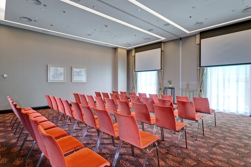 Grand Hotel River Park; a Luxury Collection Hotel-Corvinus Function Room Theatre-Style Meeting up<br/>Image from Leonardo
